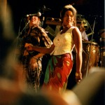 Zoe and Debra Lee Sullivan Singing with  Big Mountain 1996   Reggae Sunplash  US Tour
